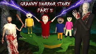 Android Game - Granny Horror Story Part 5 (Animated In Hindi) Make Joke Horror