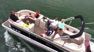 2014 Pontoon Boats - Tahoe Vista Quad Lounge - Tahoe Pontoons