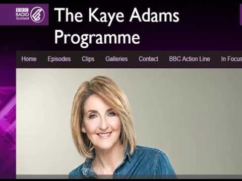 Radio Scotland with Kaye Adams about ME