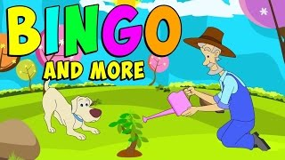 BINGO! Bingo Song! Bingo Song With Lyrics - Nursery Rhymes Part 1