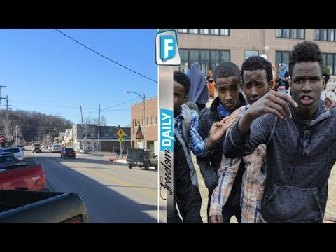 Obama's Muslim Migrants Overtake Small American Town And Force Repulsive Act On Christians