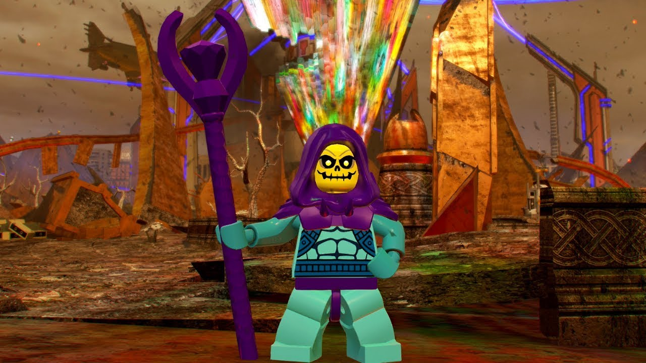 LEGO Marvel Super Heroes 2 Skeletor Free Roam Gameplay ...