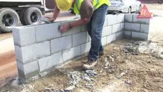How to correctly apply Sika