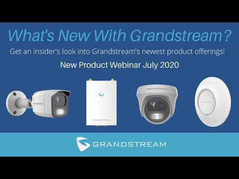 grandstream-new-product-webinar-july-2020-|-voip-supply