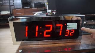 아인네트 동아방송 utc, kst 선택표출 GPS시계