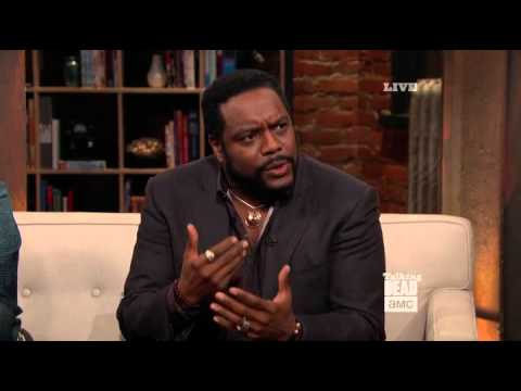 Chad Coleman on Talking Dead