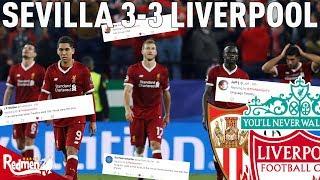 Sevilla v Liverpool 3-3 | Twitter Reactions