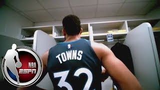 Karl-anthony Towns Becoming Playmaker For Timberwolves | Espn