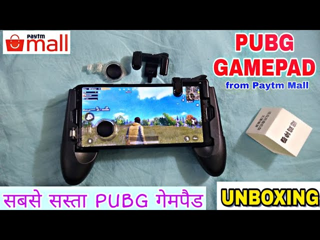 {UNBOXING} Cheap PubG Gamepad From Paytm Mall.