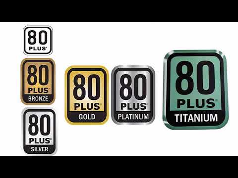 80 PLUS Bronze, Silver, Gold, Titanium and Platinum: differences between certifications of power