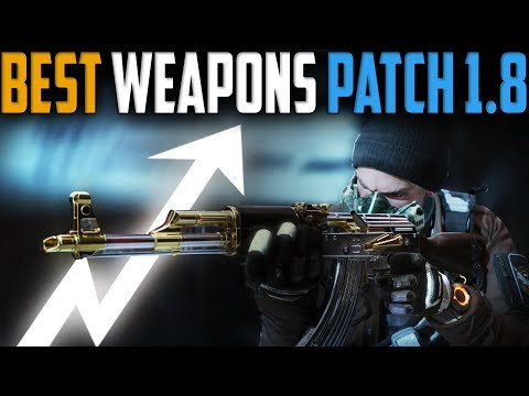 The Division | Best Weapons in Patch 1.8 | In Depth Analysis