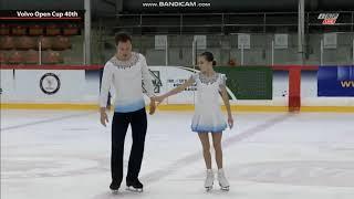 Appolinaria Panfilova Dmitry Rylov Аполлинария Панфилова Дмитрий Рылов FS Volvo Open Cup 2019