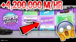 NEW MONEY GLITCH | HOW TO MAKE MONEY FAST | FORZA HORIZON 4 | MONEY METHOD