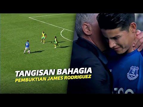 """""""Kehidupan Kedua James Rodriguez"""" Lihatlah Bagaimana Dia Merubah Everton Menjadi Tim yg Ditakuti"""