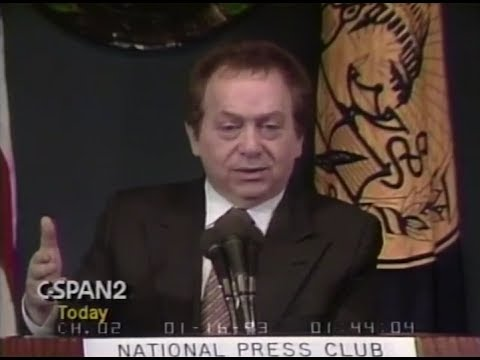 Jackie Mason National Press Club 1993