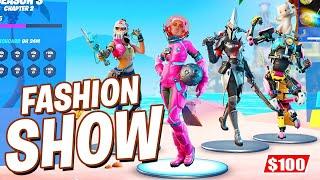Season 3 FASHION SHOW! $100 Prize! (Fortnite Battle Royale)
