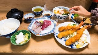Japanese Food Tour - HIDDEN-GEMS in Tokyo, Japan | Breakfast, Lunch, and Dinner!