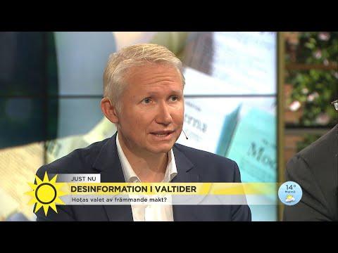"""Så hotas valet av främmande makter: """"Sverige är sårbart"""" - Nyhetsmorgon (TV4)"""