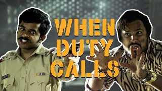 When Duty Calls | Abish Mathew feat. Naveen Richard | Sketch Comedy