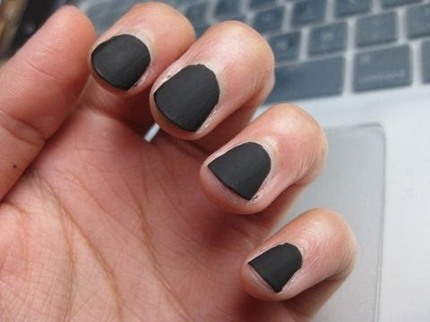 Diy Matte Nail Top Coat Household Items