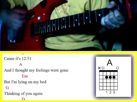 12:51 by Krissy and Ericka  - Guitar Chords