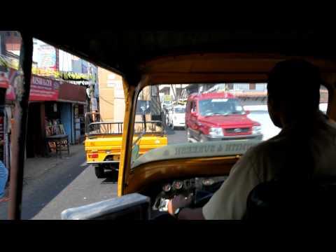 Traffic in Cochin, Kerala, India