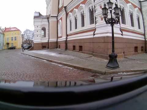 Tallinn sightseeing - Old Town drive 2017