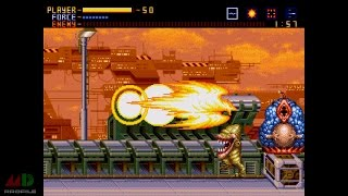 Alien Soldier: Walkthrough Pt. 1 (w/Commentary) Superhard, No Death