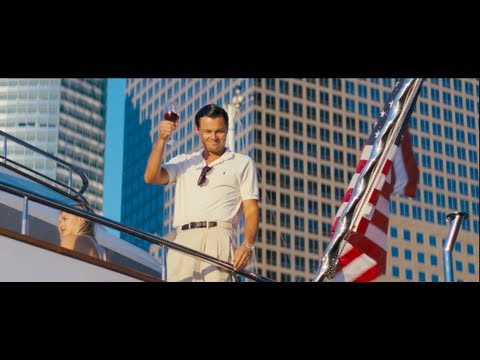 The Wolf of Wall Street trailers