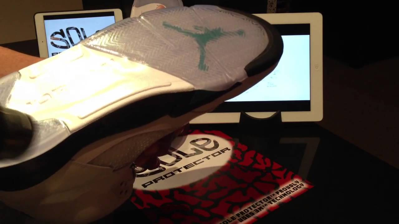 18e42abbd781 SOLE PROTECTOR™ by 3M™ Installation Video on Air Jordan V
