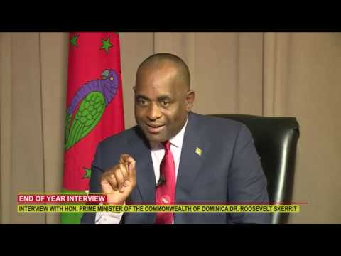END OF YEAR INTERVIEW WITH HON. PRIME MINISTER DR. ROOSEVELT SKERRIT