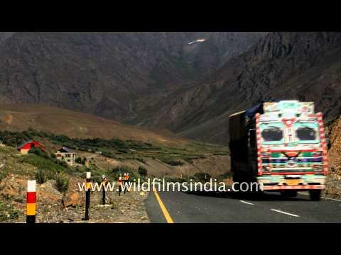 Chokiyal village of Kargil district - Jammu and Kashmir, India