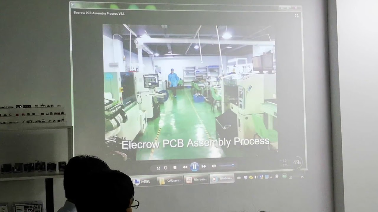 Elecrow introduce the company PCB manufacture for Makers, Shenzhen, China