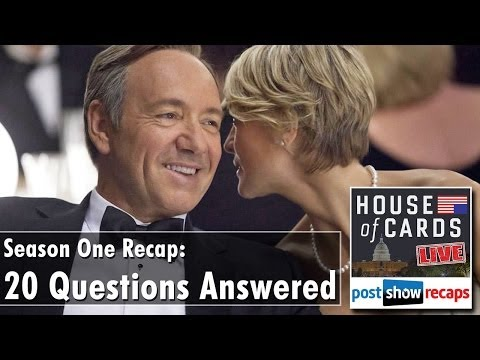 House of Cards Season 1 Recap: 20 Questions Answered