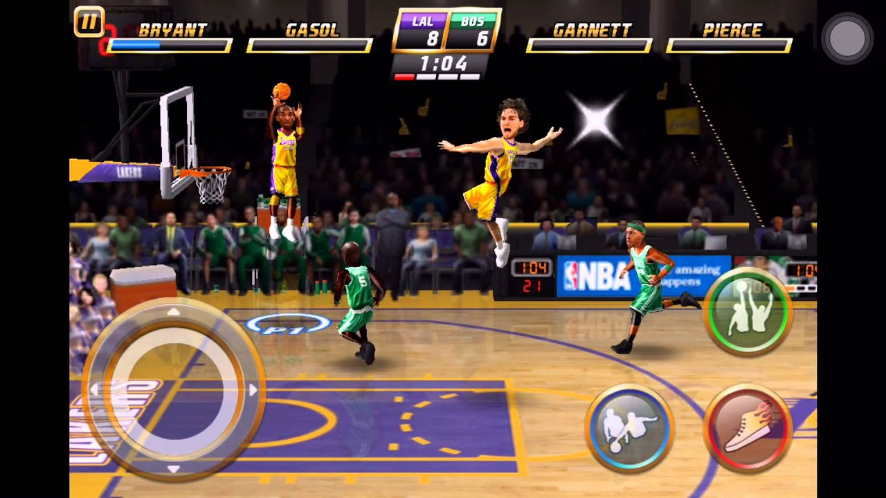 Nba Jam By Ea Sports Lite Iphone Games Sport Gameplay Youtube