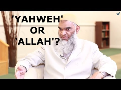 Q&A: 'Yahweh' or 'Allah' -- Who was Abraham's God? | Dr. Shabir Ally