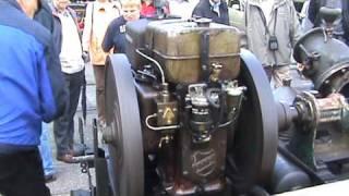 Deutz MAH 716 Verdampfermotor mit Niagara Pumpe wird angelassen