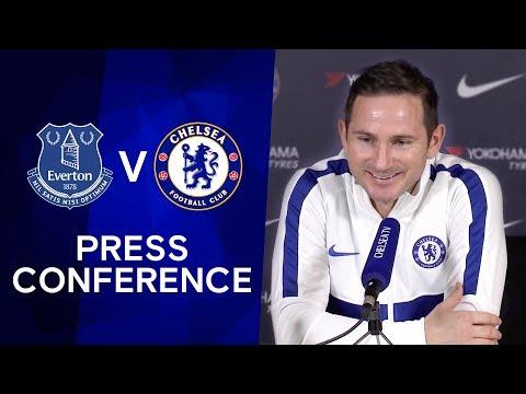 Frank Lampard on Chelsea's transfer ban being reduced & Marco Silva's dismissal | Everton v Chelsea