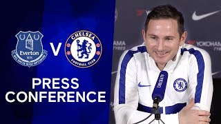 Frank Lampard on Chelsea's transfer ban being reduced & Marco Silva's dismissal | Everton v Chelsea