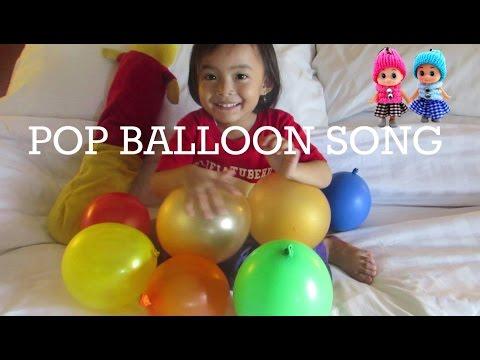 Lagu Anak Mengenal 10 Malaikat  + Learn Color Pop Ballons Song @LifiaTubeHD