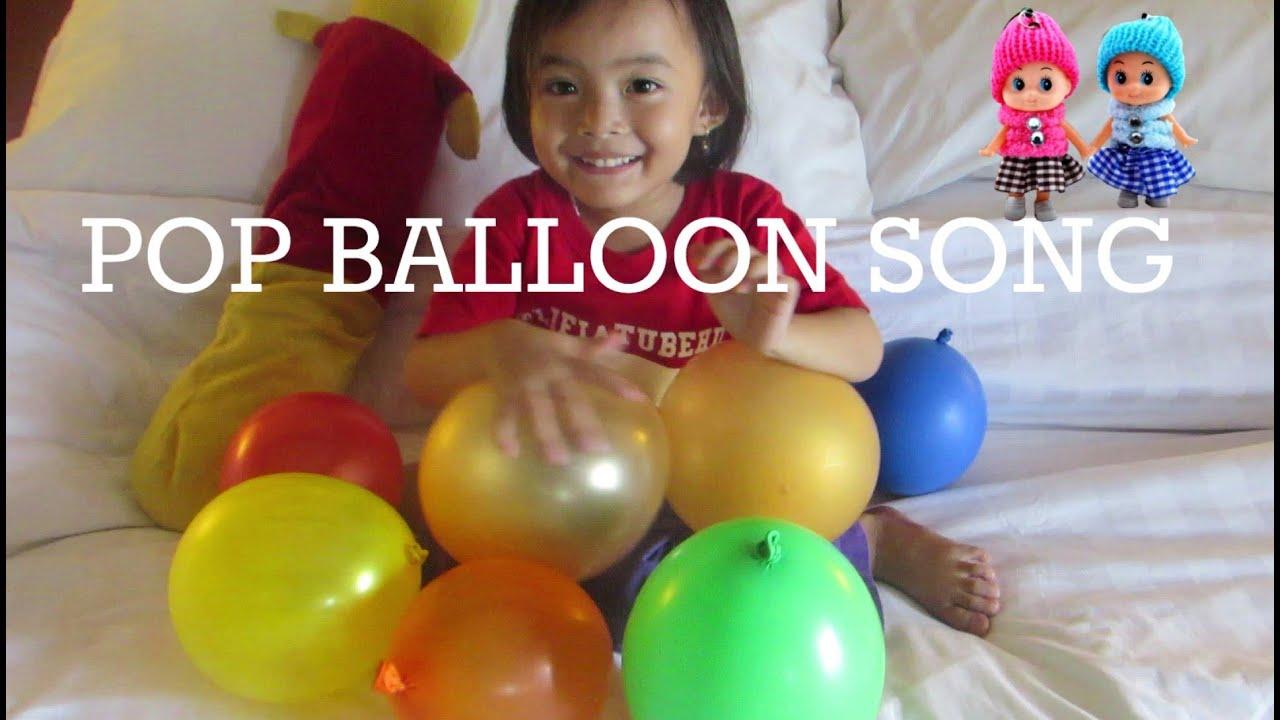 Lagu Anak Mengenal 10 Malaikat  + Five Color Ballon ❤ Color Pop Ballons Song @LifiaTubeHD