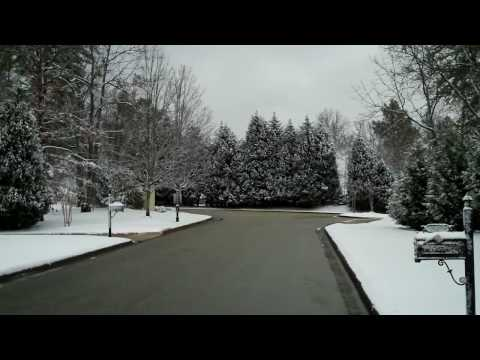 Snowing in Shelby County, Alabama 3/01/09