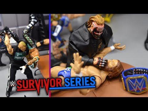 WWE ACTION FIGURE SETUP! SURVIVOR SERIES 2019!