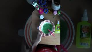 Как сделать слайм из клея луч пиши свои рецепты без клея