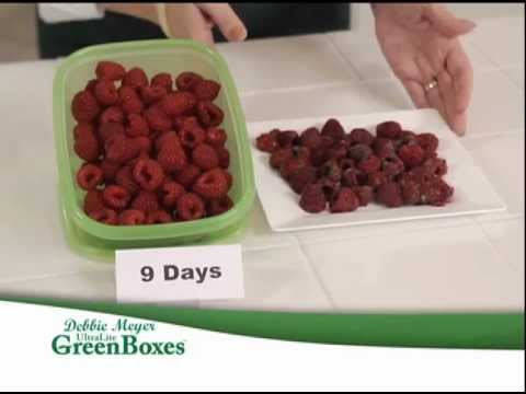 Debbie Meyer UltraLite GreenBoxes™ - Food Storage System & Debbie Meyer UltraLite GreenBoxes™ - Food Storage System - YouTube