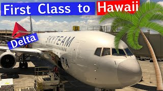 Delta One Business Class 767-400 to Hawaii