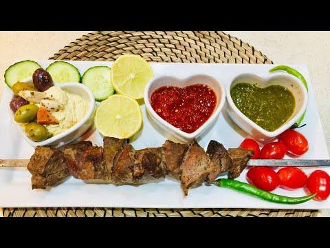 كباب جگر طرز تهيه كباب جگر Kabab Jigar jeger Jegar Recipe how to make Liver Kebab Recipe