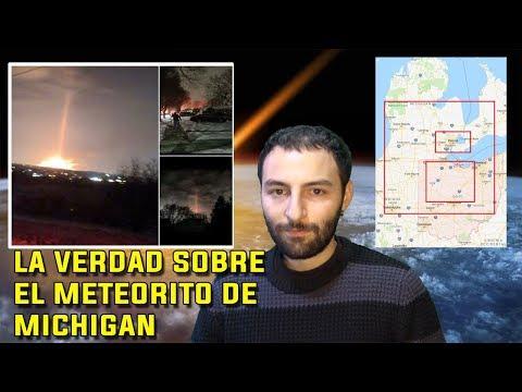 La verdad sobre el Meteorito de Michigan - Nuevos datos salen a la luz