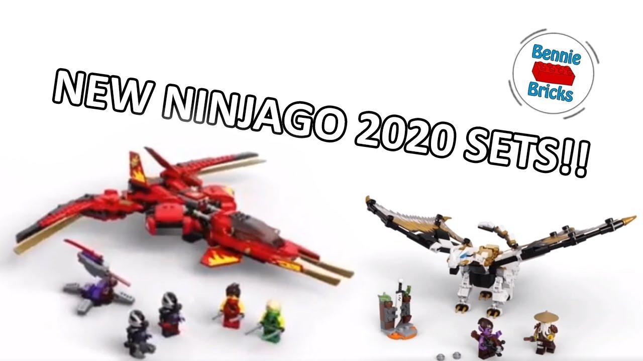 New Lego Ninjago 2020 Kai Fighter And Wu S Battle Dragon Sets Youtube