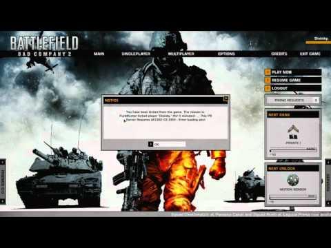 punkbuster battlefield bad company 2 windows 7